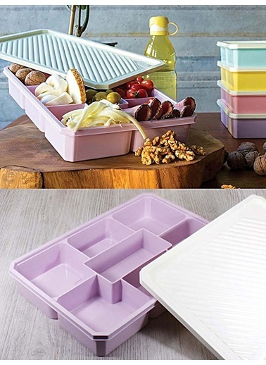 Kitchen Love 7 Bölmeli Smart Saklama Kabı Renkli
